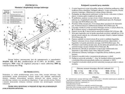 Фаркоп MAZDA 626 (GF) седан хэтчбек 07/1997-06/2002
