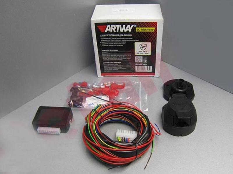 Блок согласования для фаркопа ARTWAY SC100
